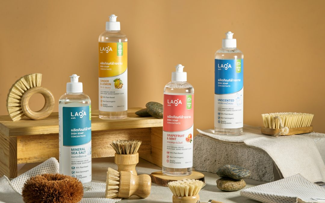 What's so great about LAGA's Natural Dish Soap Formulas?